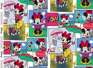 Bilde av Jersey print med Minnie Mouse WOW