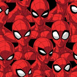 Bilde av Bomull stoff med Marvel Spider Sense