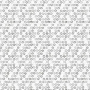 Bilde av Bomull stoff med garn hvit