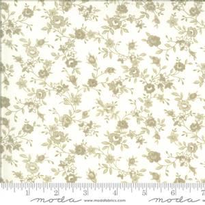 Bilde av Moda fabrics Roselyn Flower Vine Ivory